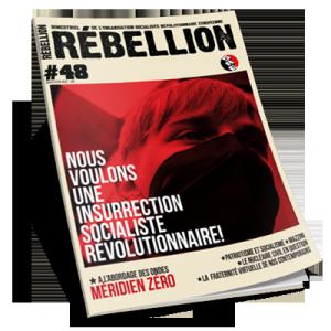 Rébellion, la revue de l'OSRE. Abonnez-vous !